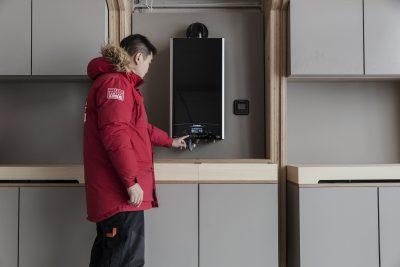 Ariston construiește o casă modulară în Groenlanda, în scopul susținerii cercetărilor climaterice
