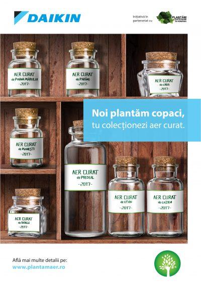 """""""Plantăm Aer"""", programul de responsabilitate socială dezvoltat de Daikin România, continuă cu experiențe autentice din inima naturii"""