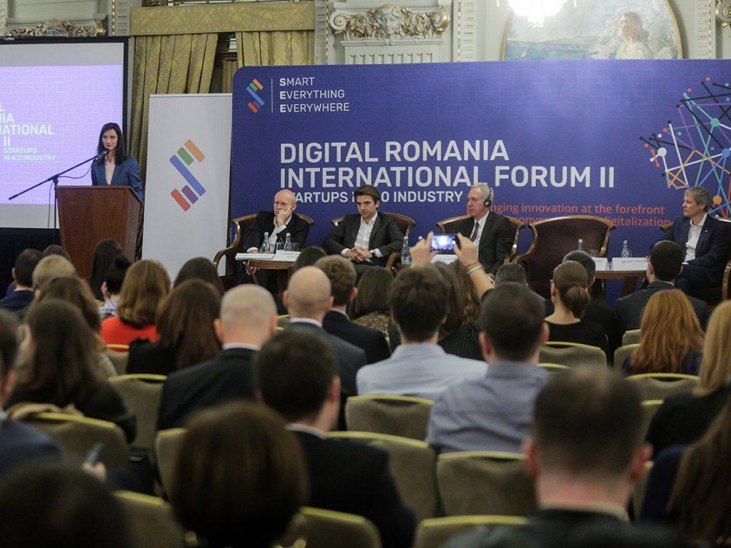 Lideri din mediul guvernamental-privat negociază cele mai importante teme din digitalizare pentru anul viitor la Digital Romania International Forum III: Women Leadership in Industry 4.0