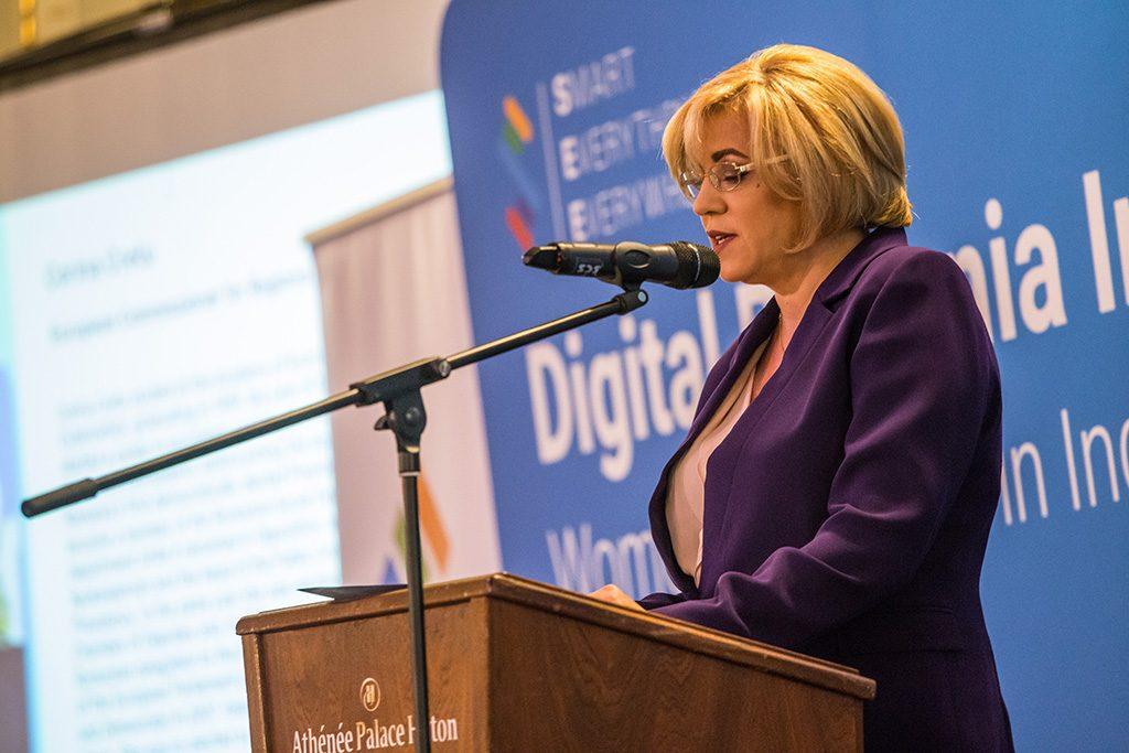 Concluzia Digital Romanian International Forum III:  România stabilește agenda digitală europeană și transatlantică  în sensul egalității de gen