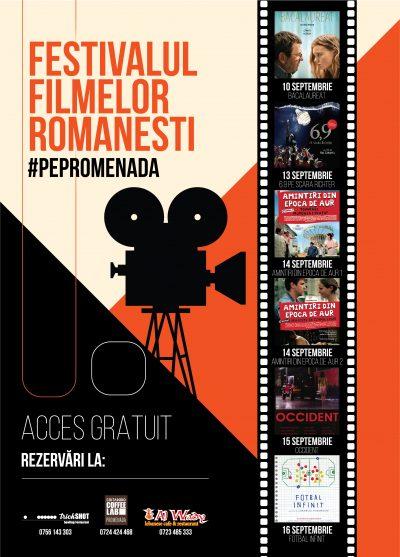 "Cristian Mungiu prezintă public filmul ""Bacalaureat"", premiat la Cannes,  pe terasa Promenada"