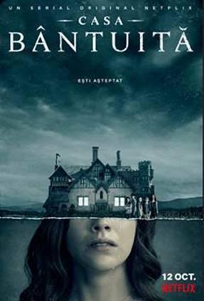 Primul tur al înfricoșătoarei case din noul serial horror Netflix, The Haunting of Hill House (ro. Casa Bântuită)