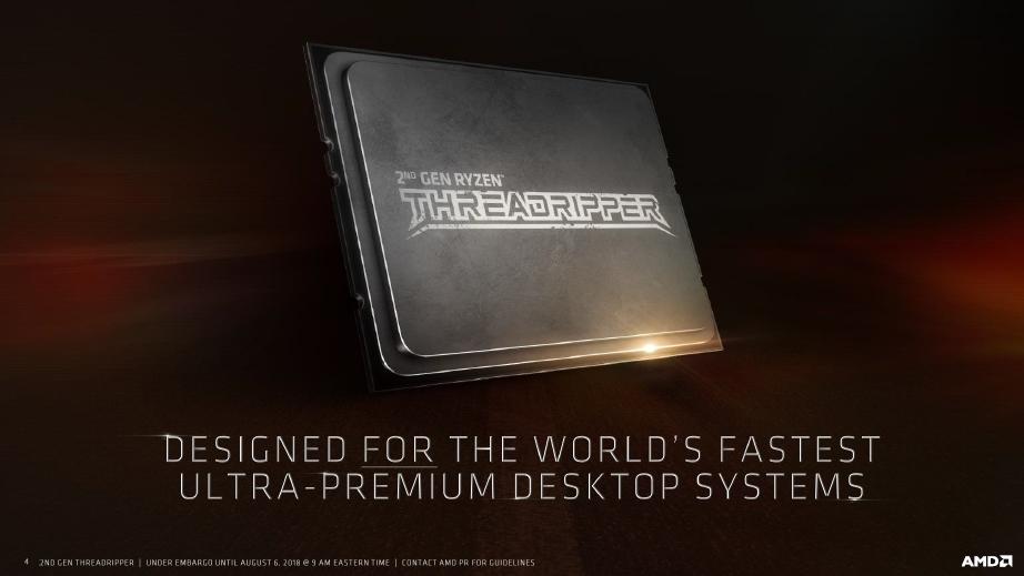 AMD Ryzen Threadripper 2950X este disponibil pentru cumparare
