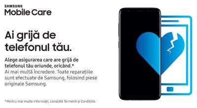 Samsung lansează programul Samsung Mobile Care