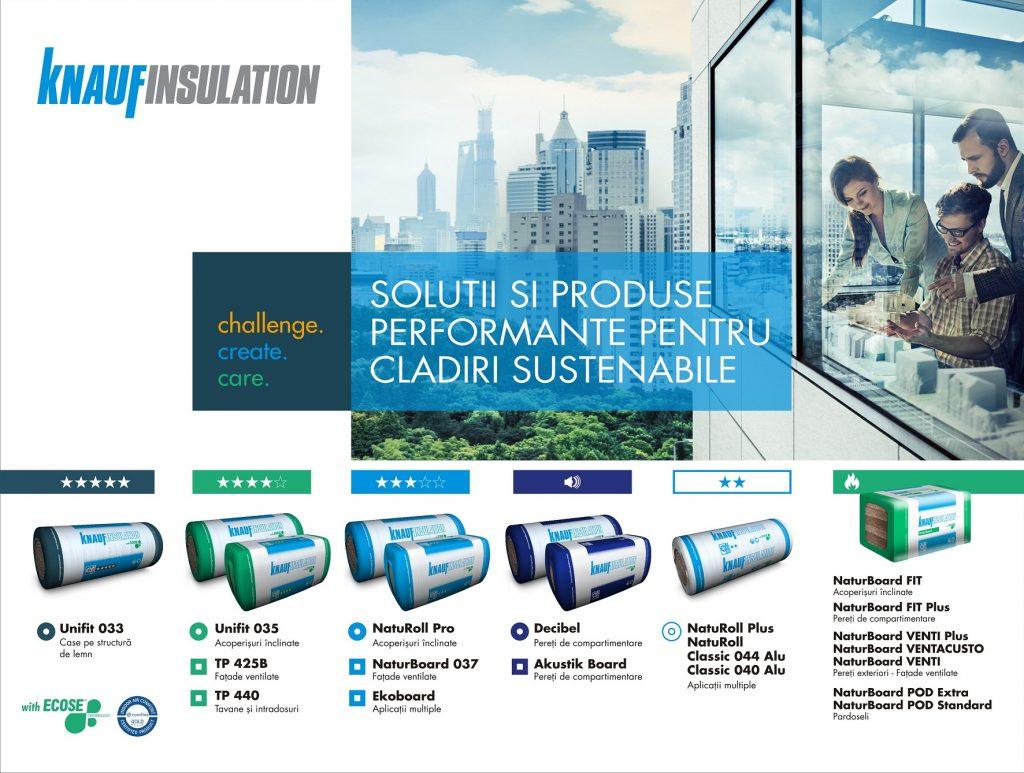 La 10 ani de activitate pe piața locală, Knauf Insulation estimează o cifră de afaceri de peste 13 milioane de euro