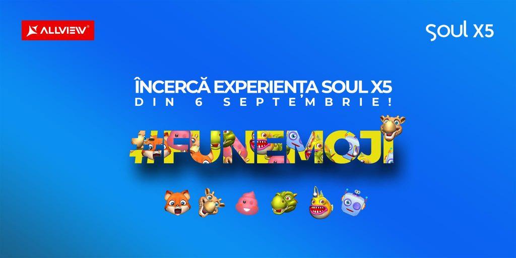 Allview Soul X5 va fi lansat pe 6 Septembrie si va oferi experienta FunEmoji