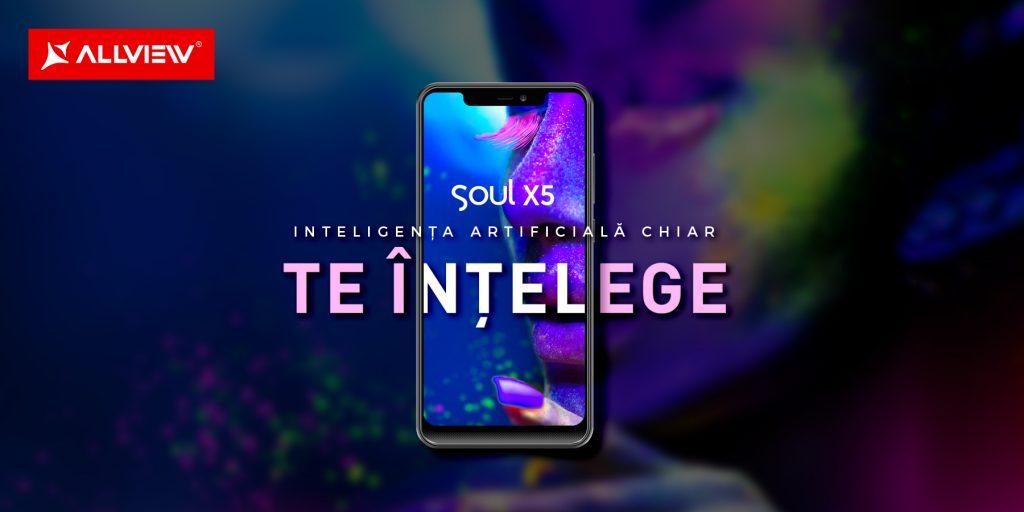 Allview Soul X5 – te învață, te asistă, te distrează