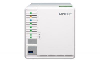 Noul server NAS TS-332X de la QNAP oferă conectivitate 10GbE SFP+ și trei sertare pentru SSD-uri
