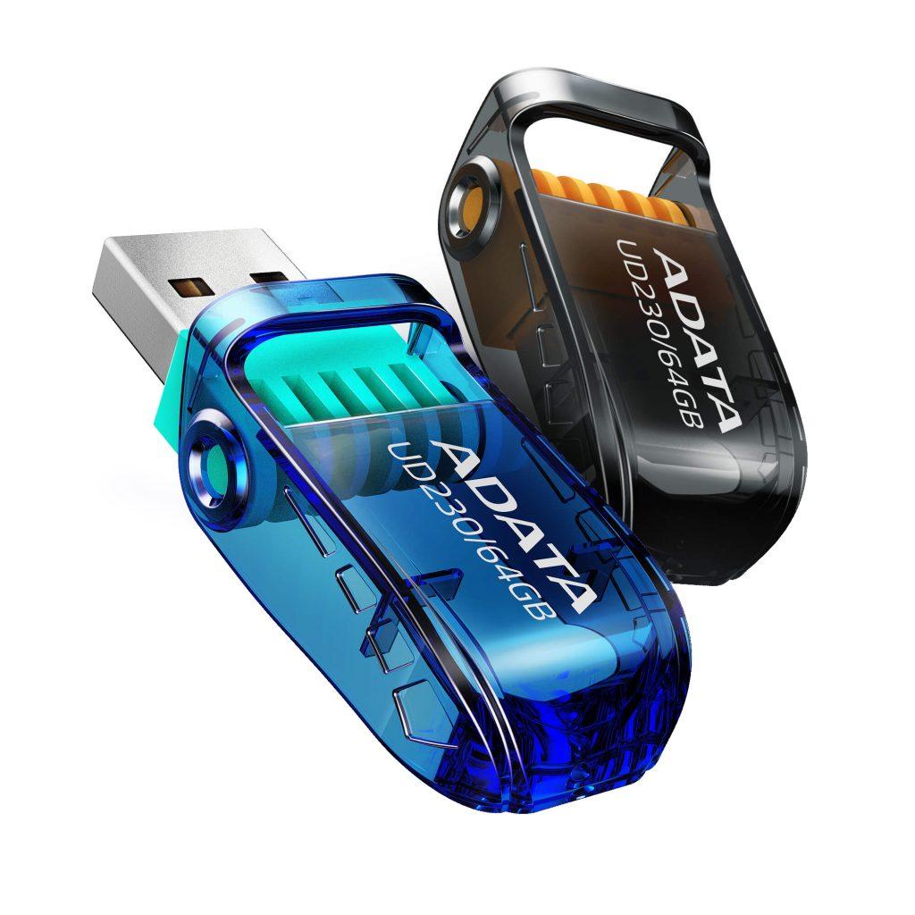 ADATA lanseaza stick-urile de memorie USB UD230 si UD330   Un design ergonomic si modern care ofera portabilitate excelenta