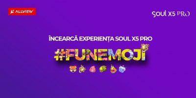 Distrează-te cu FunEmoji și pe Soul X5 Pro!