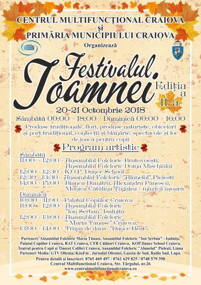Comunicat presă Festivalul Toamnei