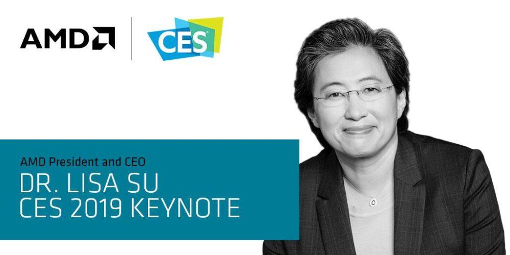 Președinta și CEO-ul AMD Dr. Lisa Su va ține un Keynote la CES 2019