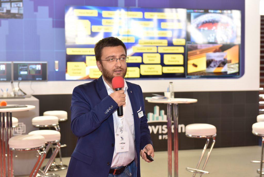 Inovatie si tehnologii deschise catre performanta UltraVision si Axis Communications la Romanian Security Fair 2018