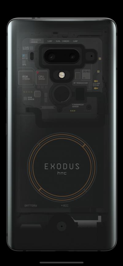 HTC lansează EXODUS 1, o versiune inițială a telefonului cu tehnologie blockchain