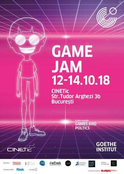 40 de participanți din România, Macedonia și Turcia vor lua startul la Game Jam-ul pe teme politice organizat de Goethe-Institut și CINETIc