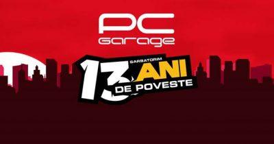 PC Garage sărbătoreşte 13 ani de gaming, oferind cadou 1.001 SSD-uri
