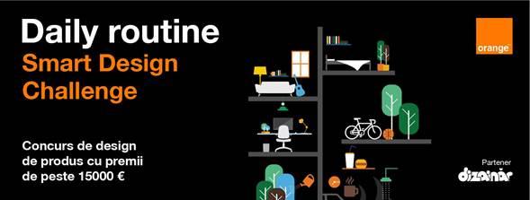 Orange anunţă startul înscrierilor la Smart Design Challenge 2018, competiţia care încurajează integrarea tehnologiei în designul de produs