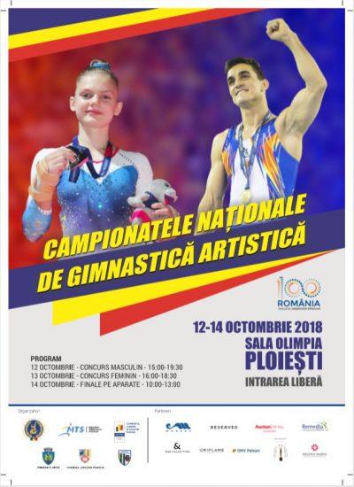 Va invitam la un weekend de gimnastica: Campionatul National de la Ploiesti transmis live prin camerele Axis