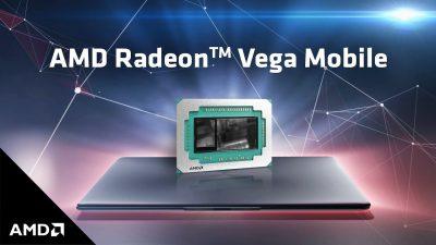 AMD Radeon™ Vega Mobile vine pe MacBook Pro