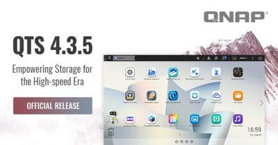 QNAP a lansat oficial sistemul QTS 4.3.5 pentru serverele NAS