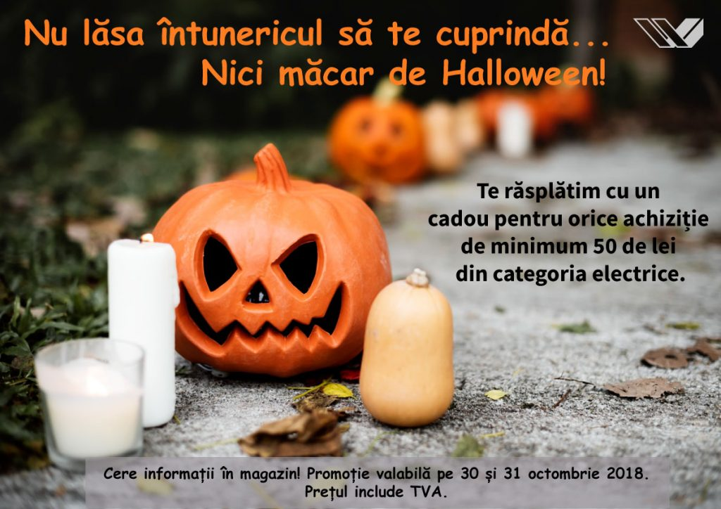Vitacom Electronics anunță campania de Halloween