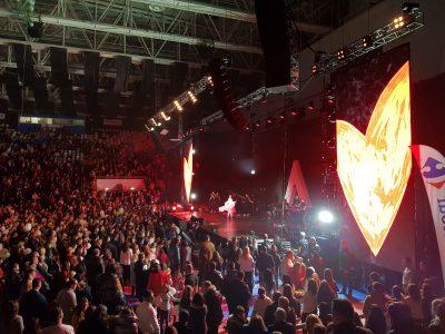 Cum a fost la concertul sustinut de Andra in Craiova
