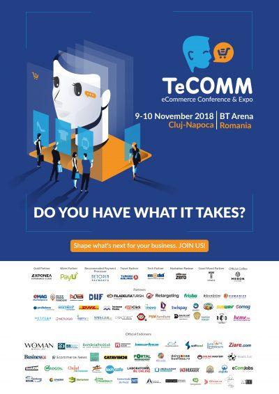 Predicții de viitor și conținut relevant la TeCOMM Cluj 2018.  Încep pregătirile pentru 2019!