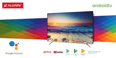 Allview devine jucător pe piața Smart TV cu Android™