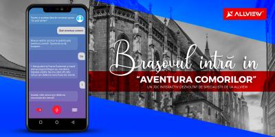 """Brașovul intră în """"Aventura Comorii"""",  un joc interactiv dezvoltat de specialiștii de la Allview"""