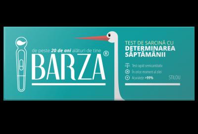BARZA lansează testul de sarcină cu determinarea săptămânii