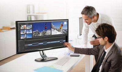 Ecran mare de 34 inchi pentru proiectele tale: Philips BDM347OUP