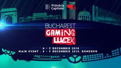A doua ediție a Bucharest Gaming Week va avea loc în perioada 4-9 decembrie