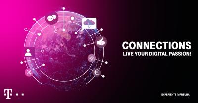 Noi vorbitori anunțați în cadrul evenimentului Connections, powered by Telekom Romania