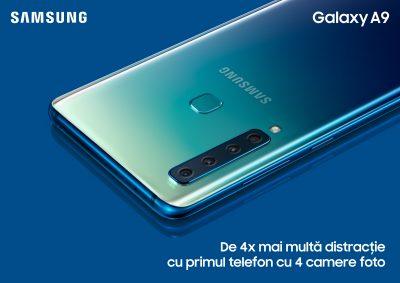Samsung Galaxy A9 ajunge oficial în România