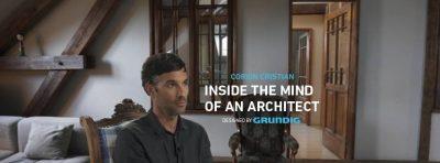 """Grundig a vizitat casa, atelierul și mintea lui Corvin Cristian pentru a afla cum faci din """"acasă"""" cel mai bun loc în care poți fi"""