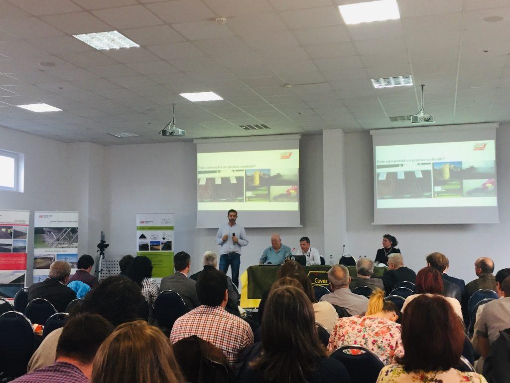 INDAGRA 2018: prilej de a aduce în prim plan tema compostării deșeurilor agricole