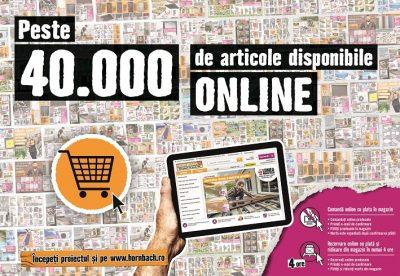 HORNBACH: În doi ani, peste 30.000 de articole vor fi comercializate exclusiv prin magazinul online