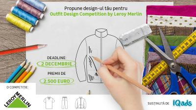 Încă 5 zile pentru înscrierile în competiția de design Leroy Merlin