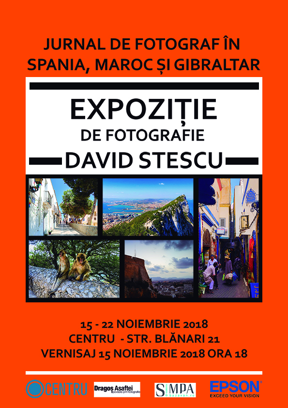 Jurnal de fotograf în Spania, Maroc și Gibraltar – o expoziție foto printată cu Epson EcoTank