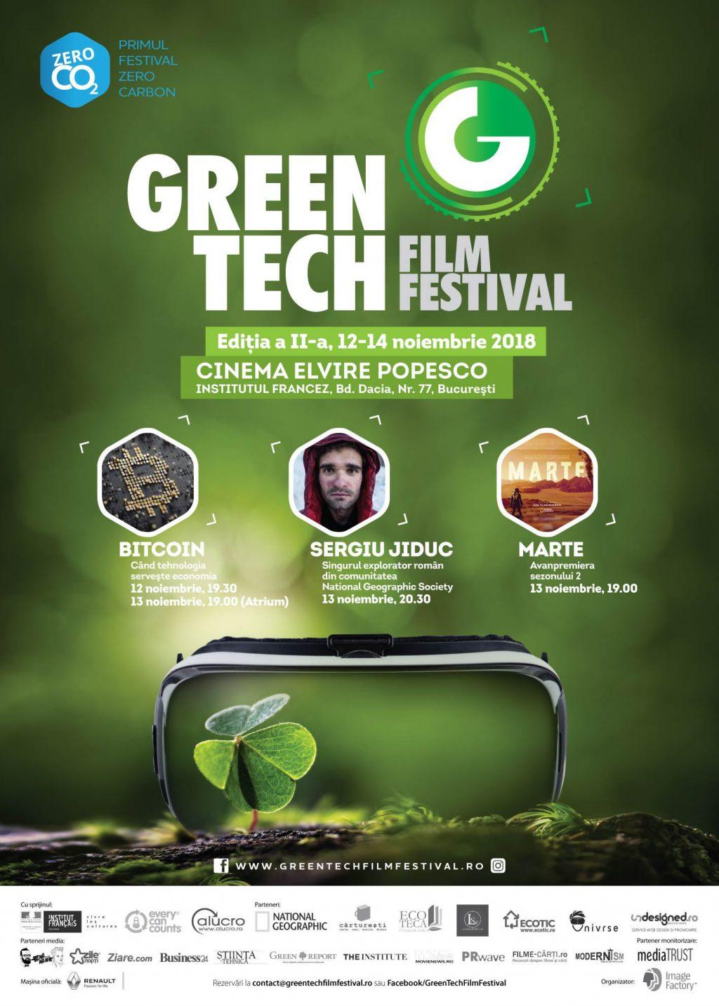 Singurul explorator român din National Geographic Society,Sergiu Jiduc, vine la GreenTech Film Festival