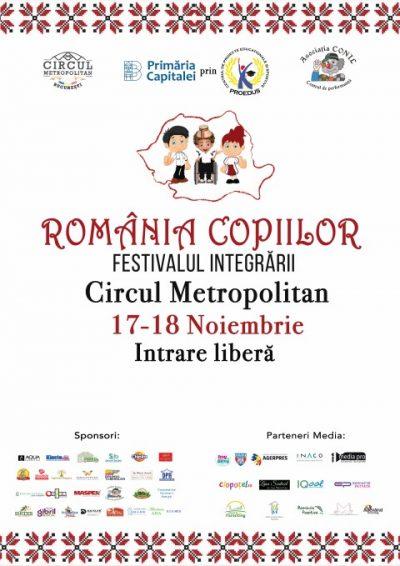 La CIRCUL Metropolitam construim ROMANIA COPIILOR