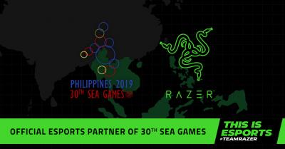 Razer este partenerul oficial de sporturi electronice al SEA Games 2019