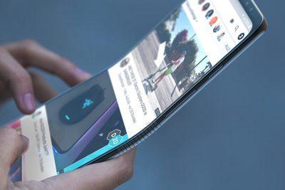 Noutatile Samsung – telefonul mobil care se indoaie