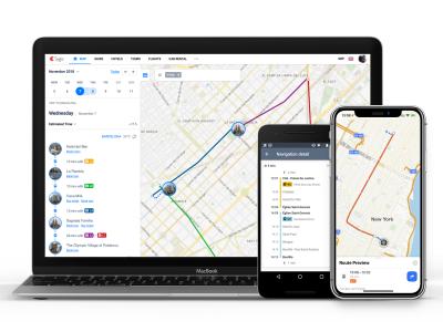 Sygic Travel include transportul public pe aplicație și pe site-ul web