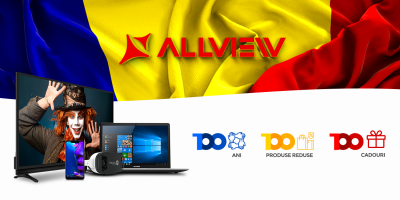 Allview lansează Campania 100 100 ani, 100 produse reduse, 100 cadouri