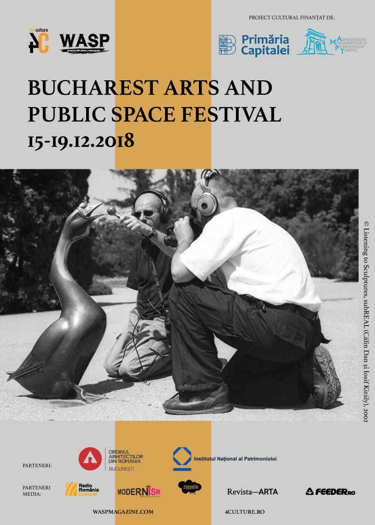 Prima ediție a Bucharest Arts and Public Space Festival începe în data de 15 decembrie 2018