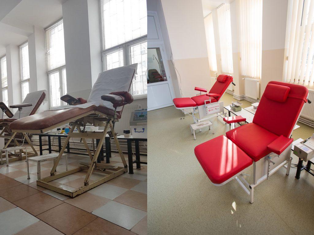 """Centrul regional de transfuzie sangvina Craiova a fost modernizat prin programul """"O sansa pentru viata"""", sprijinit de Fundatia Vodafone Romania"""