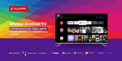Allview lansează pe piață primele sale Smart TV-uri cu Android™