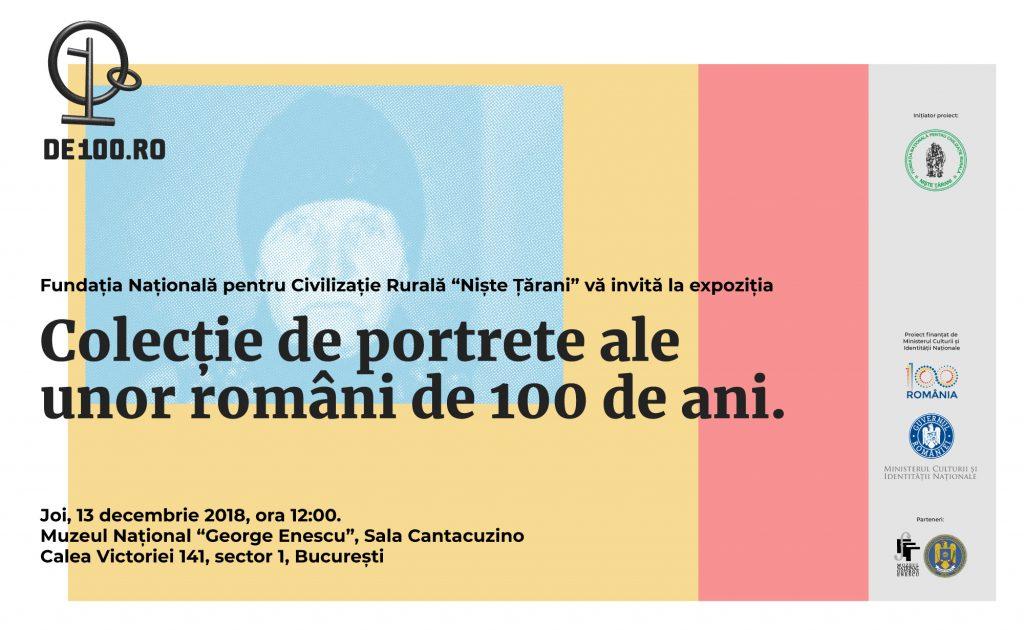 România în portretele a 10 români de 100 de ani