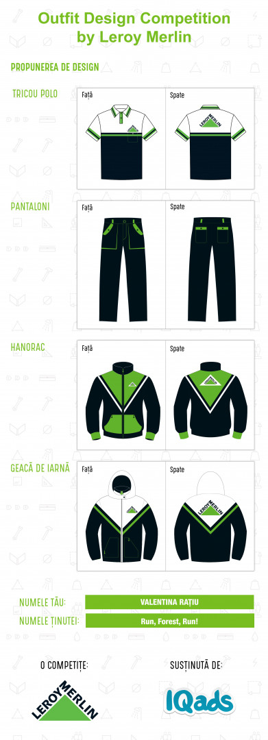 Au fost desemnați câștigătorii Outfit Design Competition by Leroy Merlin